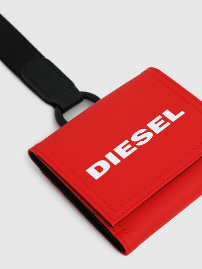 Diesel - YOSHINO LOOP, Fire Red - Small Wallets - Image 4