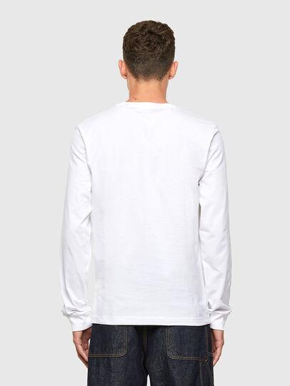 Diesel - T-DIEGOS-LS-X1, White - T-Shirts - Image 2
