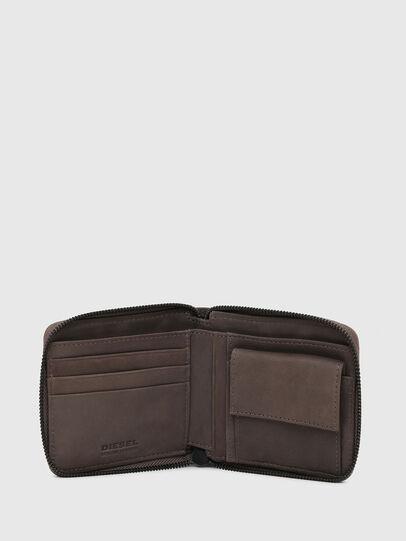 Diesel - ZIPPY HIRESH S WITH, Dark grey - Zip-Round Wallets - Image 3