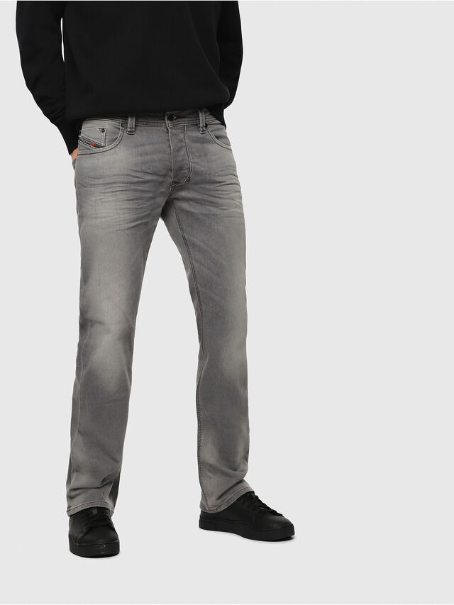 Diesel - Larkee C84HP, Light Grey - Jeans - Image 1