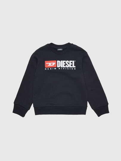 Diesel - SCREWDIVISION OVER, Black - Sweaters - Image 1