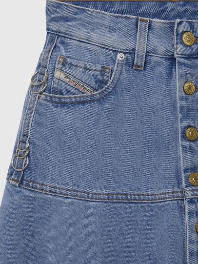 Diesel - DE-BETHY, Light Blue - Skirts - Image 3
