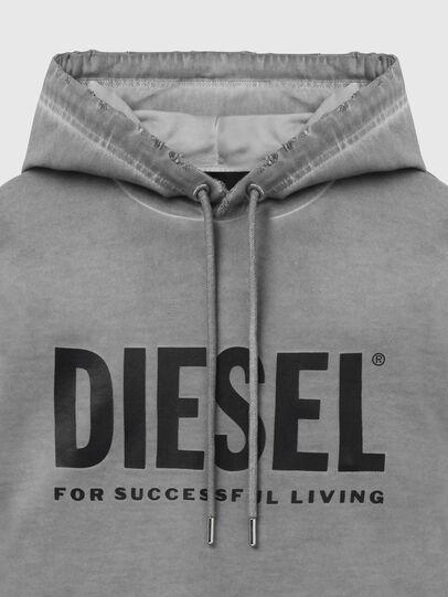 Diesel - S-GIR-HOOD-DIVISION-, Grey - Sweaters - Image 3