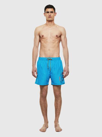Diesel - BMBX-WAVE 2.017, Azure - Swim shorts - Image 1