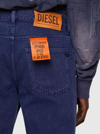 Diesel - D-Macs 09A34, Medium blue - Jeans - Image 4