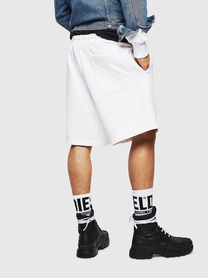 Diesel - P-ALF-SHORT, White - Shorts - Image 2