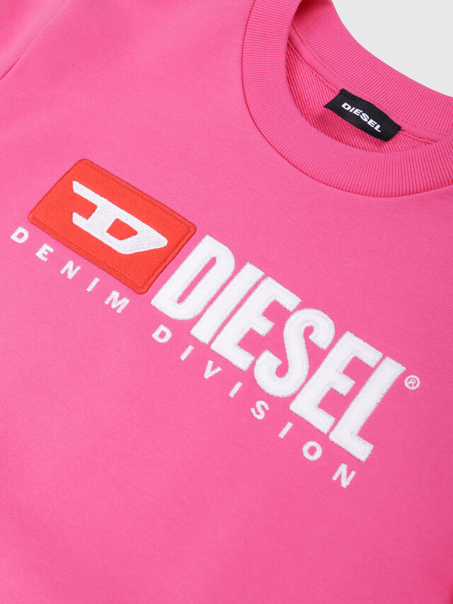 Diesel - SCREWDIVISION OVER, Hot pink - Sweaters - Image 3