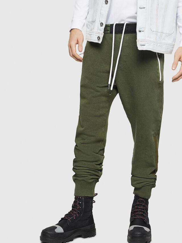 Diesel - P-TA, Dark Green - Pants - Image 1
