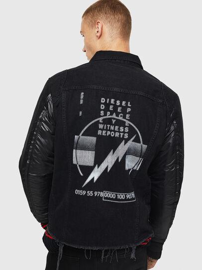 Diesel - D-BLIT,  - Denim Jackets - Image 2