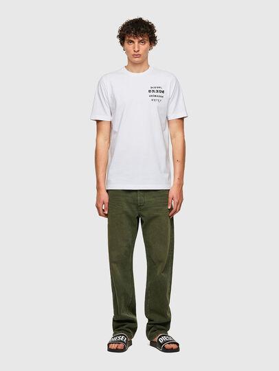 Diesel - T-JUST-B59, White - T-Shirts - Image 4
