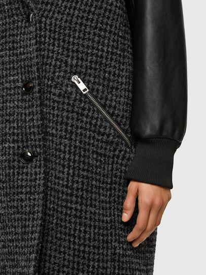 Diesel - W-ELSKE, Black - Winter Jackets - Image 4