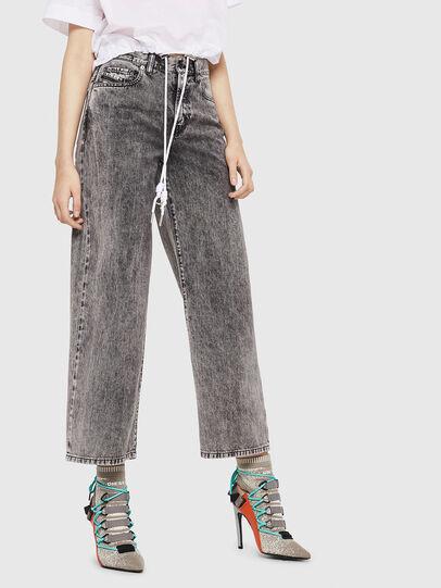 Diesel - Widee 069EB, Black/Grey - Jeans - Image 1