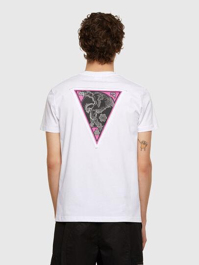 Diesel - T-DIEBIND-E1, White - T-Shirts - Image 2