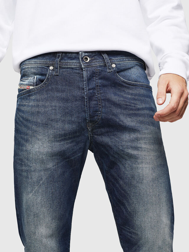 Diesel Buster 0853R, Dark Blue - Jeans - Image 3