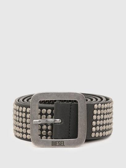 Diesel - B-CINGU, Black - Belts - Image 1