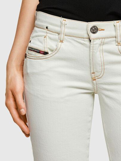 Diesel - D-Ebbey 009ZA, White - Jeans - Image 4