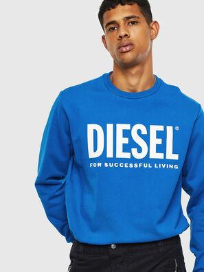 S-GIR-DIVISION-LOGO, Light Blue - Sweaters