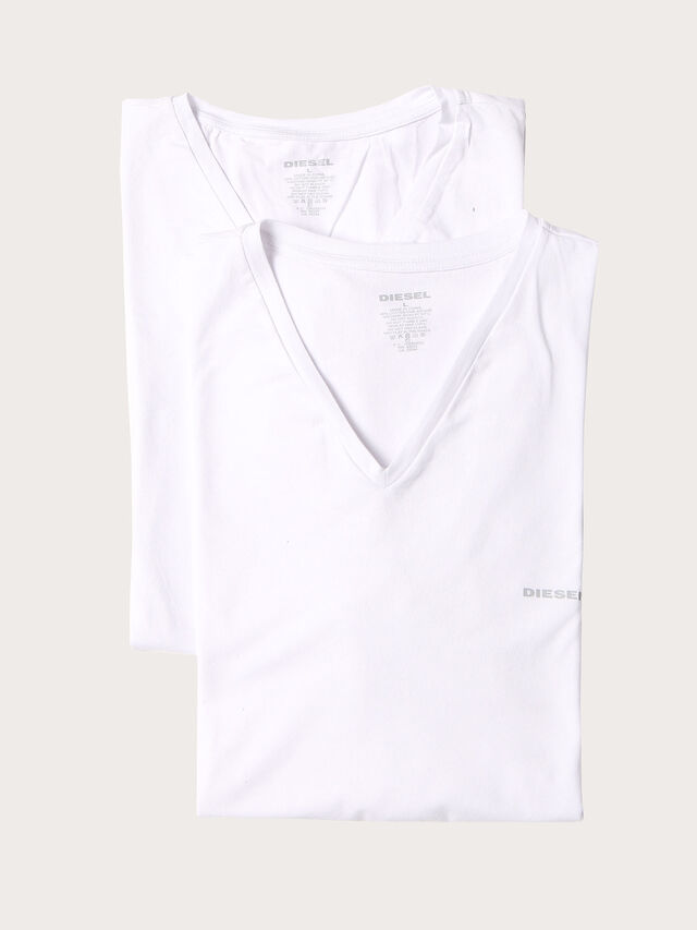 Diesel UMTEE-MICHAEL2PACK, White - Tops - Image 1