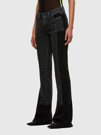 Diesel - D-Ebbey 009IM, Black/Dark grey - Jeans - Image 5