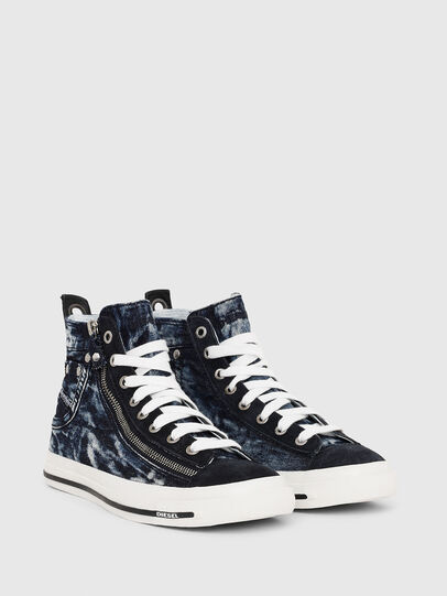 Diesel - EXPO-ZIP W, Dark Blue - Sneakers - Image 2