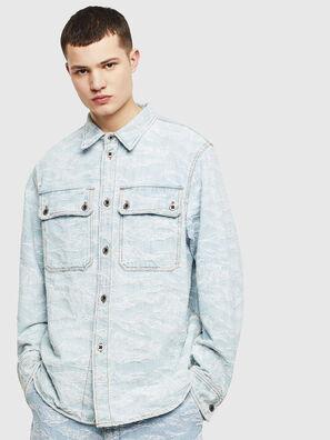 D-JESSY, Light Blue - Denim Shirts
