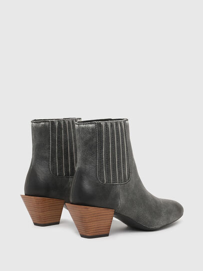 Diesel - D-TEXANNE CH, Dark Green - Ankle Boots - Image 3