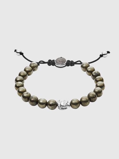 Diesel - DX1208, Silver - Bracelets - Image 1