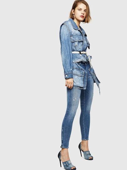 Diesel - Slandy Zip 083AP,  - Jeans - Image 5