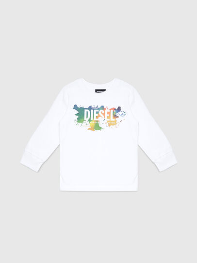 Diesel - TDOSKYB ML-R, White - T-shirts and Tops - Image 1