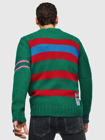 Diesel - K-BOBBY, Dark Green - Knitwear - Image 2