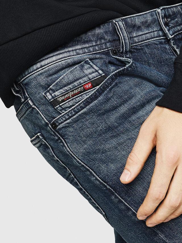 Diesel - Buster 084AS, Dark Blue - Jeans - Image 3