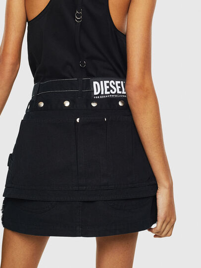 Diesel - O-LADEL, Black - Skirts - Image 2
