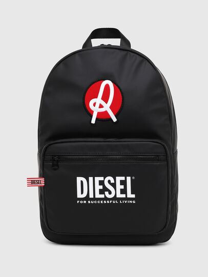 Diesel - LR-F-DISCOVER BACK N, Black - Backpacks - Image 1