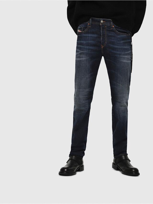 Diesel - Buster 069AH, Dark Blue - Jeans - Image 1