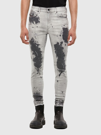 Diesel - D-Amny 009GM, Light Grey - Jeans - Image 1