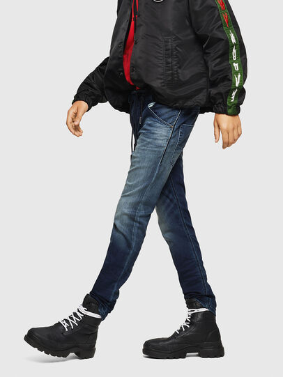 Diesel - Krooley JoggJeans 069HH, Dark Blue - Jeans - Image 4