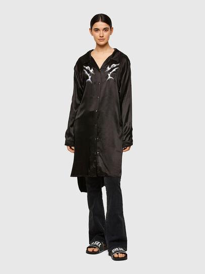 Diesel - D-NIA-A, Black - Dresses - Image 1