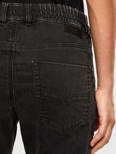 Diesel - Krailey JoggJeans 009FY, Black/Dark grey - Jeans - Image 4