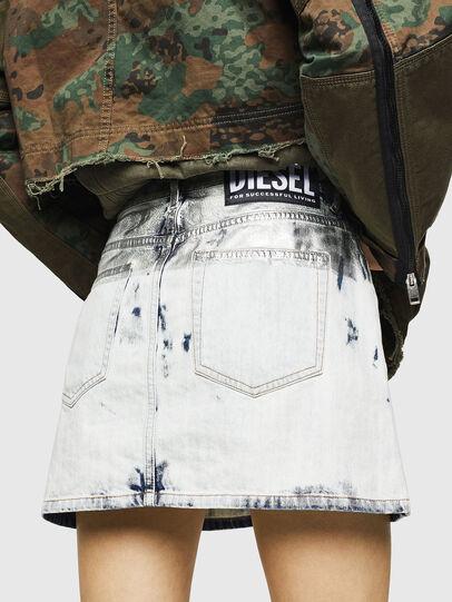 Diesel - DE-JODY-R, Light Blue - Skirts - Image 2