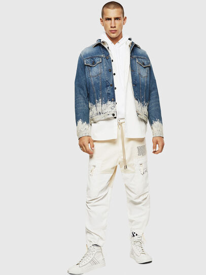 Diesel - NHILL, Light Blue - Denim Jackets - Image 8