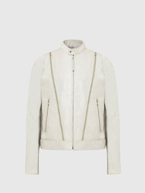 L-CROME, White - Leather jackets