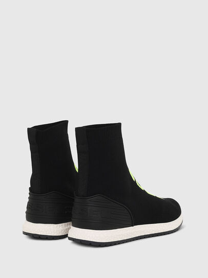 Diesel - SLIP ON 04 MID SOCK, Black - Footwear - Image 3
