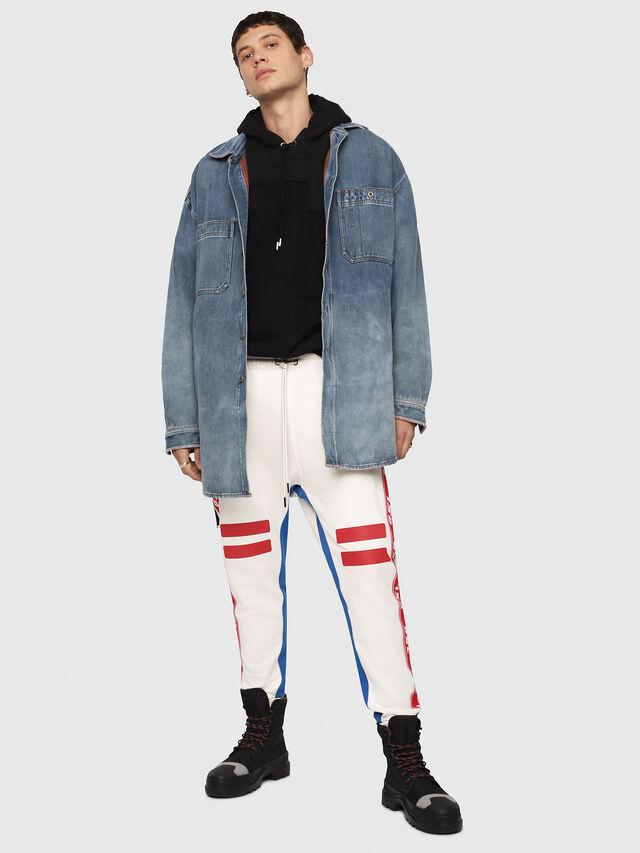 Diesel - P-YATRI, White/Red/Blu - Pants - Image 4