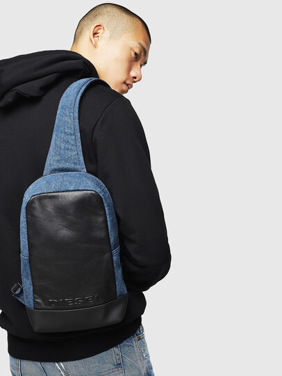 Diesel - F-SUSE MONO, Blue/Black - Backpacks - Image 6