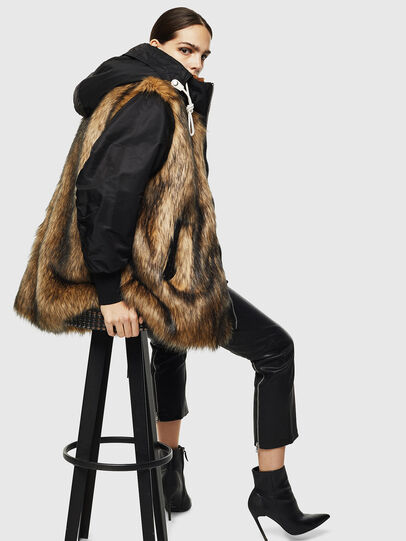 Diesel - L-ALYANA,  - Leather jackets - Image 4