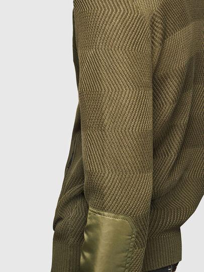 Diesel - K-MANY, Green - Knitwear - Image 4