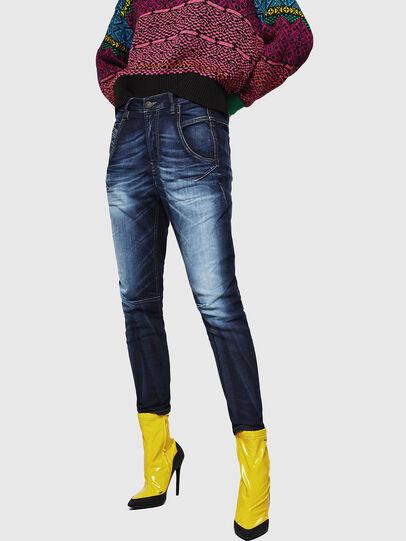 Diesel - Fayza JoggJeans 069IE, Dark Blue - Jeans - Image 1