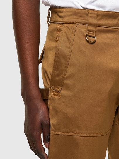 Diesel - P-DUFF, Brown - Pants - Image 4
