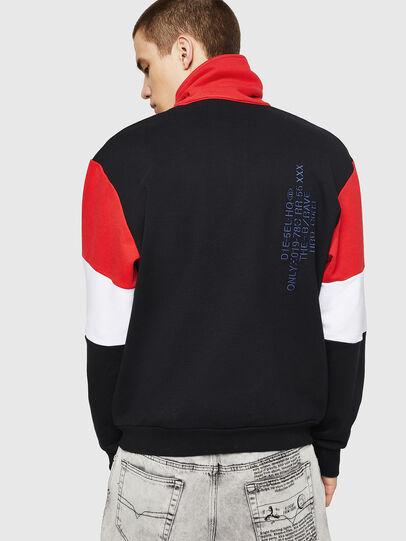Diesel - S-LEONID, Black/Red - Sweaters - Image 2