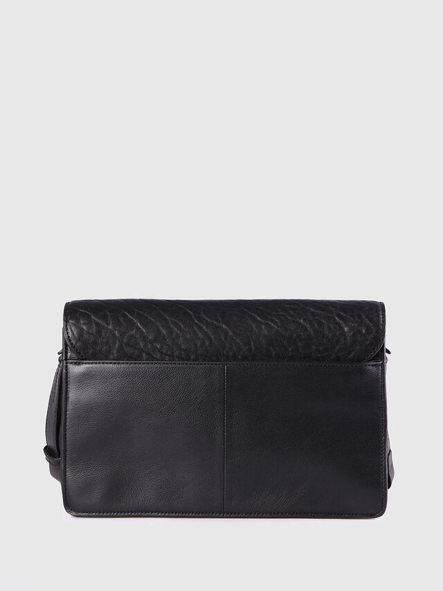 Diesel - LE-MISHA, Black Leather - Crossbody Bags - Image 2